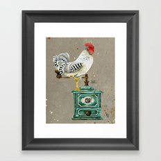 Rooster Wallace 2 Framed Art Print