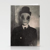 gentleman Stationery Cards featuring Gentleman by nihilnihilnihil