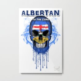 To The Core Collection: Alberta Metal Print
