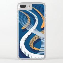 Koi 8 Clear iPhone Case