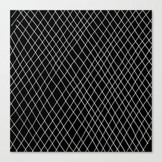 Fishnet Night Canvas Print