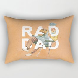 Rad Dad Rectangular Pillow