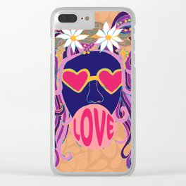 Love Blows Clear iPhone Case