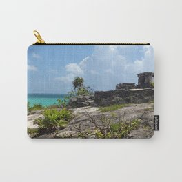 Mayan Ruins - Tulum Carry-All Pouch