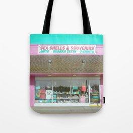 Sea Shells and Souvenirs Tote Bag
