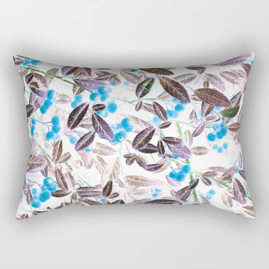 Blue Berries Rectangular Pillow