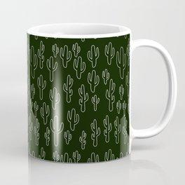Cactus in B&W Coffee Mug