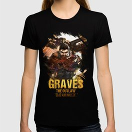 League of Legends GRAVES - [The Outlaw] T-shirt