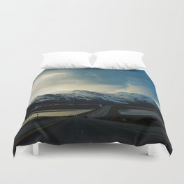 Dry Lake Pass Duvet Cover
