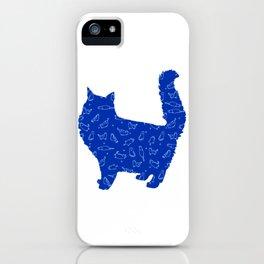 Cat 127 iPhone Case