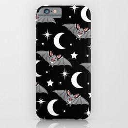 Bat Pattern Halloween Gift iPhone Case