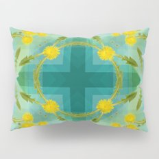 Dandelions in the sky Pillow Sham