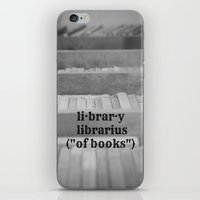 library iPhone & iPod Skins featuring Library by KimberosePhotography