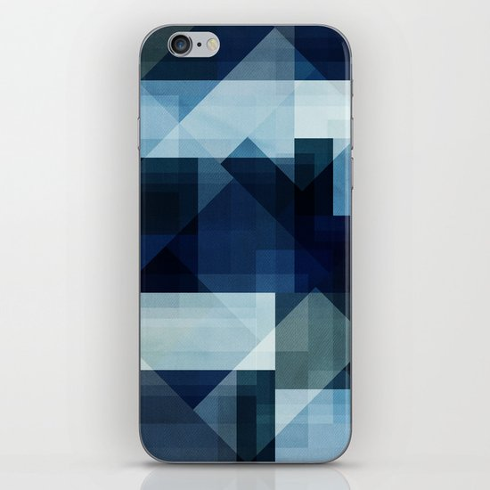 Blues iPhone & iPod Skin