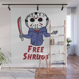 Free Shrugs Wall Mural