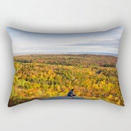 Looking at Autumn Rectangular Pillow