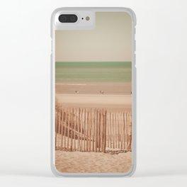 Beach dune miniature 2 Clear iPhone Case