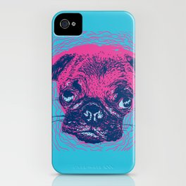 HypnoPug iPhone Case