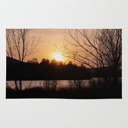 Sunset in Mont Tremblant Rug