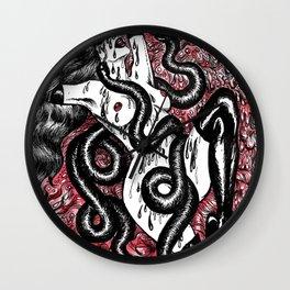 Black Snake Moan Wall Clock