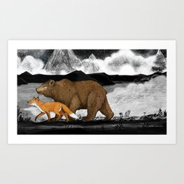 Nightwalkers Art Print