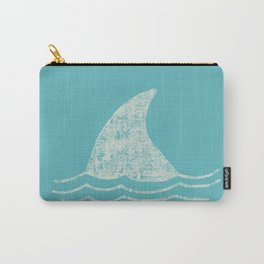 Beach Series Aqua - Shark Animal in the deep See Carry-All Pouch