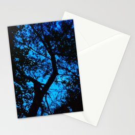 Blue Tree, 2019 from MyMargins Stationery Cards