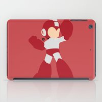 mega man iPad Cases featuring Mega Man(Smash)Red by ejgomez