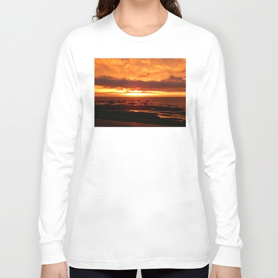 Skies of Fury at Sunset Long Sleeve T-shirt