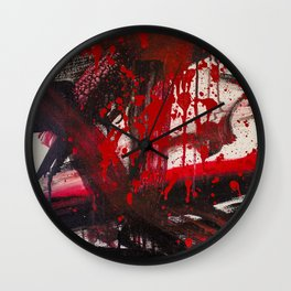 Blood on the Carpet Wall Clock