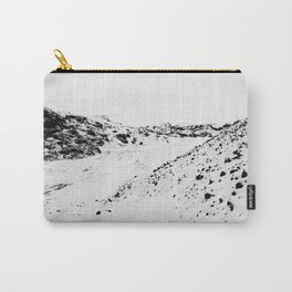 Black White World Carry-All Pouch