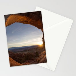 Sunrise at Partition Arch I Stationery Cards