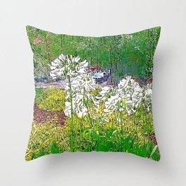 Savannah Garden Throw Pillow