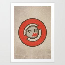 Ghostbuster 16-bit Art Print