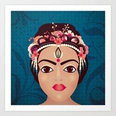 Indian Princess Art Print