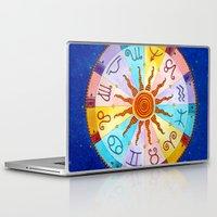 zodiac Laptop & iPad Skins featuring Zodiac by Sandra Nascimento