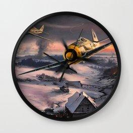 Focke Wulf Fw 190 Wall Clock