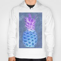 pineapple Hoodies featuring Pineapple  by Saundra Myles