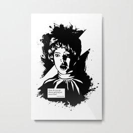 THE EXORCIST :: CHRIS MACNEIL Metal Print