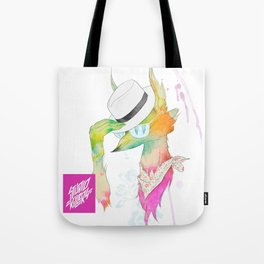 Rock the Floral Tote Bag