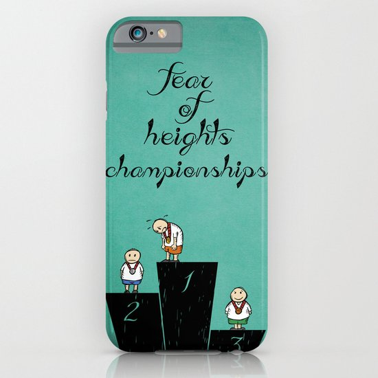 fear of height iPhone & iPod Case