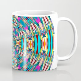 321 - Abstract Colourful Orb design Coffee Mug