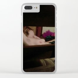 Katie Tatiana Dowell, Voyeur Mode 6 Clear iPhone Case