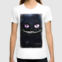 cheshire cat T-shirts featuring CHESHIRE by Julien Kaltnecker