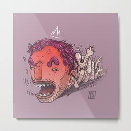 King Hit/Coward Punch Metal Print