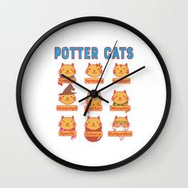 Harry Cats Wall Clock