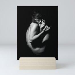 Solid, liquid, gasify Mini Art Print