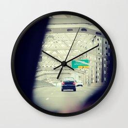 Louisville KY Bridge Wall Clock