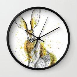 Jack Rabbit II Wall Clock