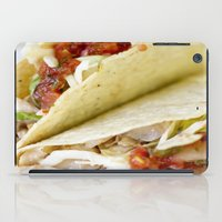 taco iPad Cases featuring Taco  by Spotted Heart
